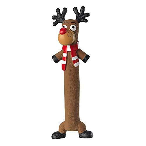 House of Paws Hundespielzeug, Weihnachtsmotiv, Latex, 200 g