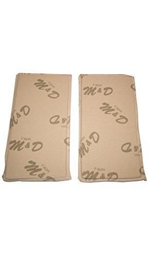 Fajas MyD 0060 Abdominal Lipo Foam Side Pads (Pair)
