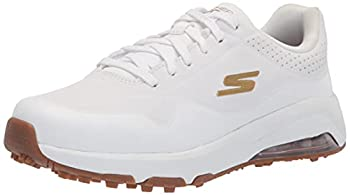 Skechers womens Skech-air Dos Relaxed Fit Spikeless Golf Shoe White 10 US