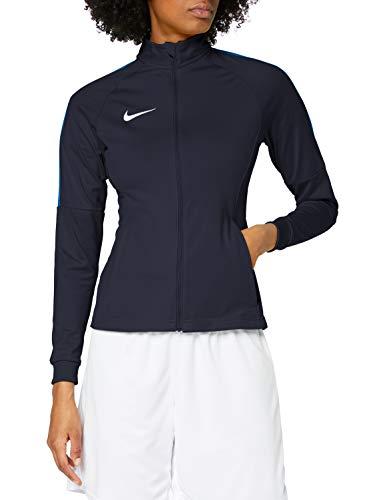 Nike Damen W NK DRY ACDMY18 TRK JKT K Sport Jacket, Obsidian/Royal Blue/(White), M