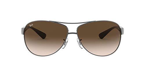 Ray Ban Sonnenbrille Metallic RB 3386 004/13 silber 67