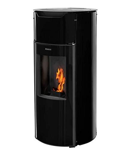 ADURO Pelletofen P1.3 Glasseiten schwarz WIFI 8 kW