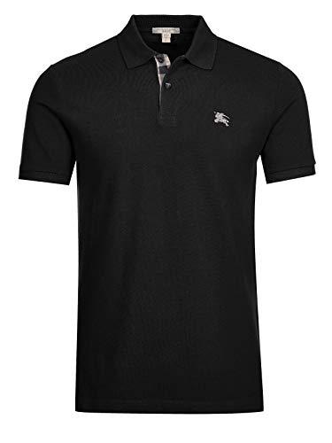 Burberry Poloshirt, Schwarz Gr. XXL, Schwarz