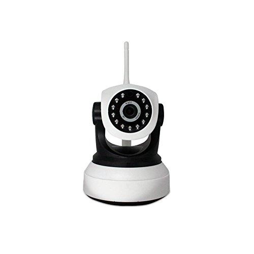 Cámara sin hilos del IP 960P HD, cámara casera del IP de la vigilancia del IP al aire libre de la cámara de seguridad de la cámara interna detector del micrófono del altavoz, blanco