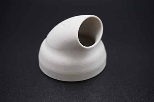 Pooldüse für INTEX Whirlpools, abgewinkelt für bessere Umwälzung und Reinigung (Kunststoff, Weiß)