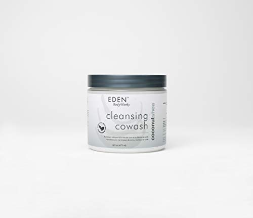 EDEN BodyWorks Coconut Shea Cleansing Cowash | 16 oz | Remove Build Up, Cleanse, Control...