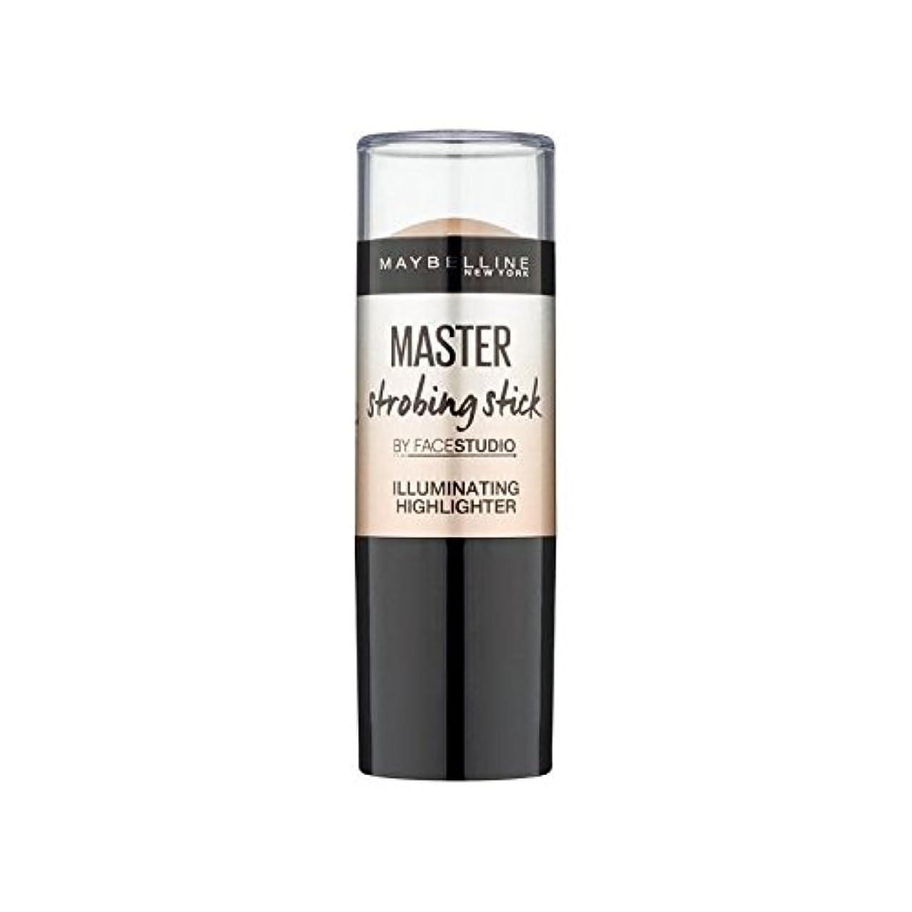 ケープ取得するテレビ局メイベリンマスターストロボスティック媒体 x4 - Maybelline Master Strobing Stick Medium (Pack of 4) [並行輸入品]