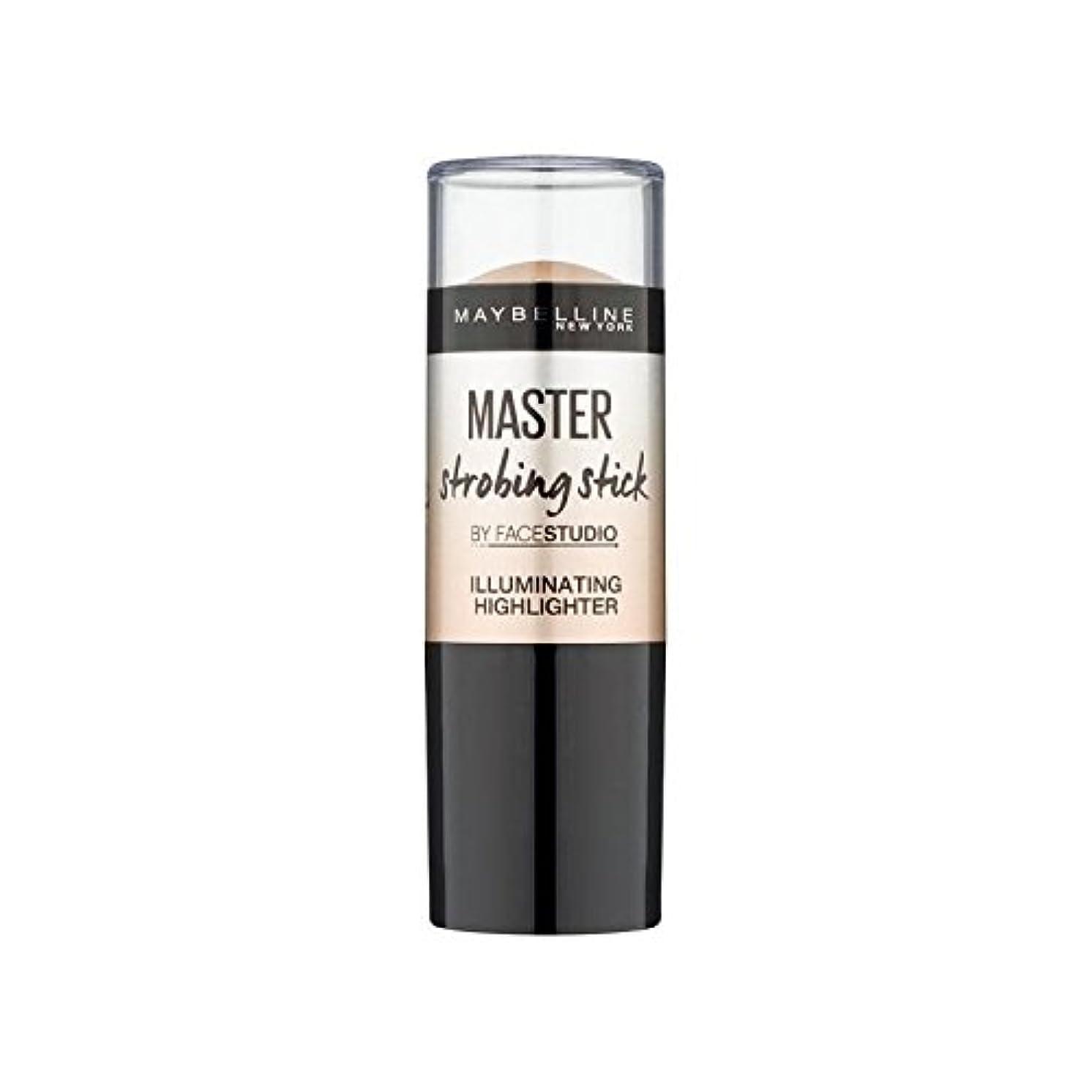 財団水を飲むインゲンMaybelline Master Strobing Stick Medium - メイベリンマスターストロボスティック媒体 [並行輸入品]