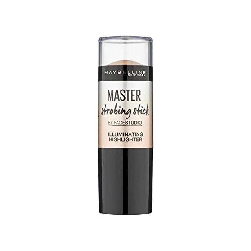 幻想一元化する戸惑うMaybelline Master Strobing Stick Medium (Pack of 6) - メイベリンマスターストロボスティック媒体 x6 [並行輸入品]