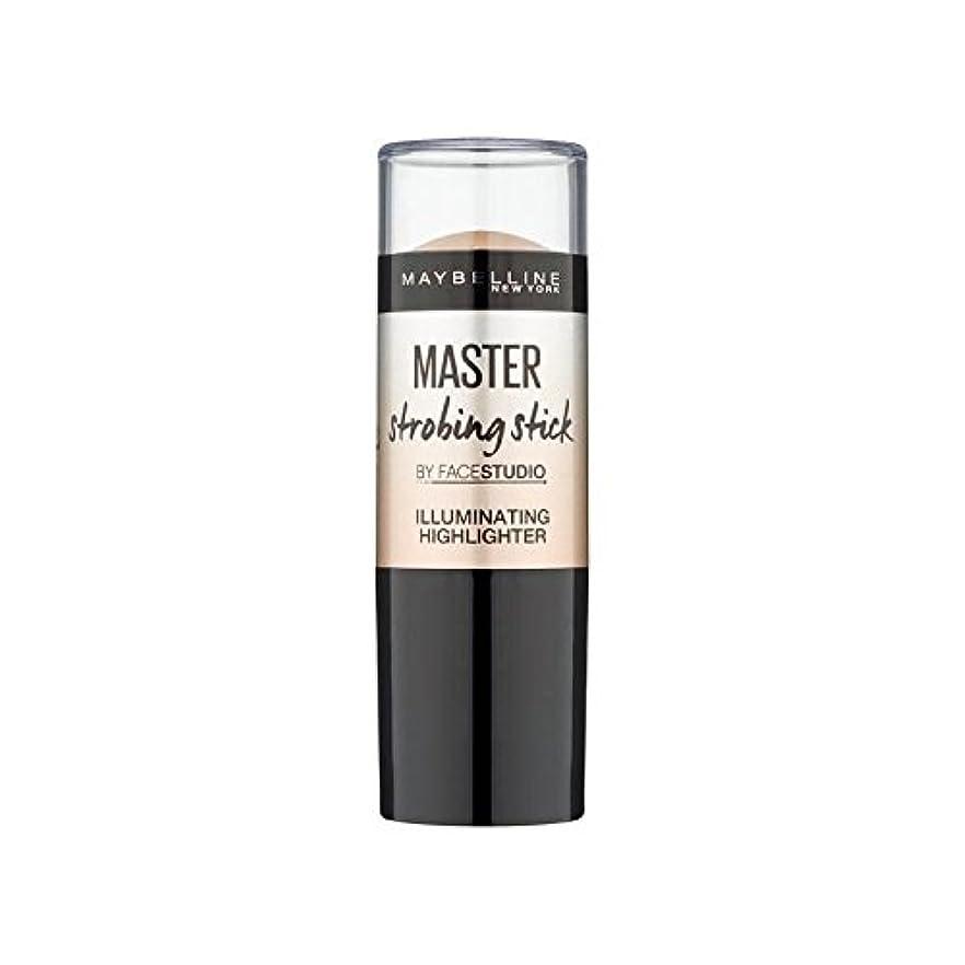 貫通行列アナニバーMaybelline Master Strobing Stick Medium (Pack of 6) - メイベリンマスターストロボスティック媒体 x6 [並行輸入品]