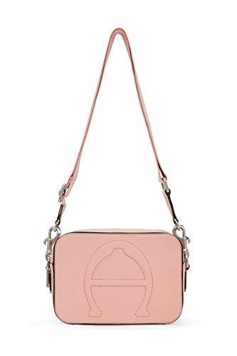 Etienne Aigner Adeline Damen Umhängetasche aus Leder, Pink (Peach Beige), Einheitsgröße