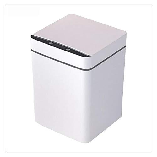 WNDRZ Bote De Basura Inteligente De 12L, Sensor De Movimiento Infrarrojo De Inducción Automático, Cubo De Basura Inteligente, Hogar, Cocina, Baño, Basura, Cubo De Basura