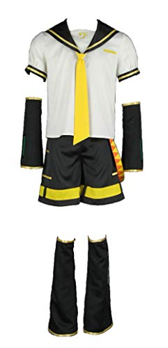 CHIUS Cosplay Costume Outfit Set for Kagamine Len Version 2