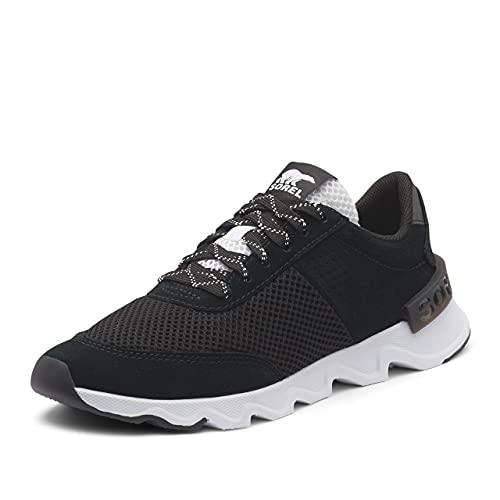 Sorel Women's Kinetic Lite Lace Sneaker - Casual - Running and Walking - Black - Size 8.5