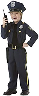 AMSCAN Classic Police Officer Halloween Costume for Boys, Large, with Included Accessories