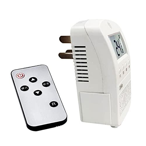 Fesjoy ZFX-03 Controlador de Temperatura Digital Enchufe 220v Interruptor de termostato Ajustable de Temperatura con Control Remoto