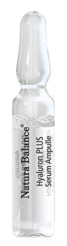 Hyaluron PLUS 15 Stück Serum Ampullen a 2 ml hochdosiert Anti Falten Aging Gesicht Hyaluronsäure Microneedling empfindliche Haut wenig Zusatzstoffe vegan