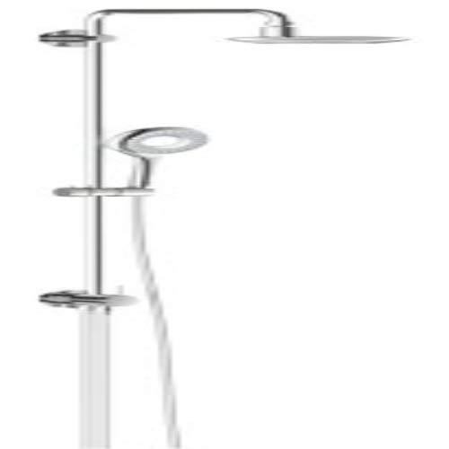 Grohe Sistema de ducha rainshower icono 27431 con ducha desviador brazo 390mm cromo