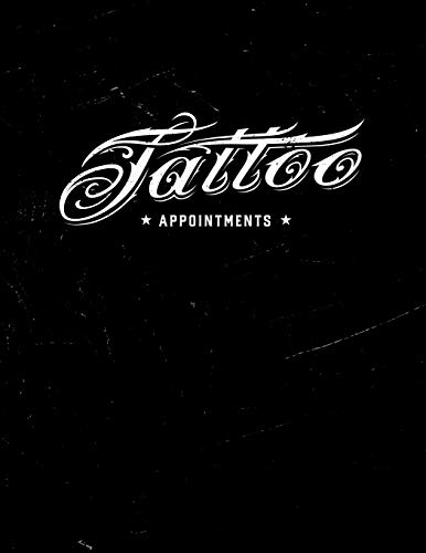 Appointment Book 2020: Tattoo Studio appointment book 2020. Month to Month Calendar + Daily / Hourly appointments w/ 15 min slots.