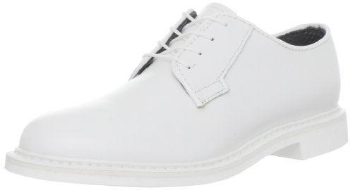 Bates Women's Lites White Leather Uniform Oxford Shoes 10.5 M