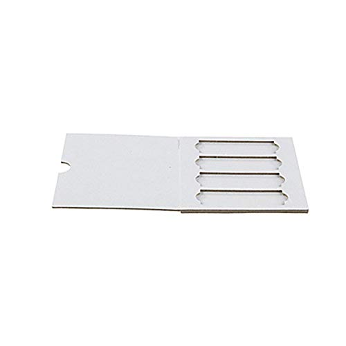 Heathrow 120557 4-Place Cardboard Slide Holder (Pack of 20)