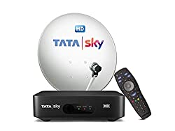 TATASKY HD Connection with 1 Month Basic Pack and Installation,TATA SKY