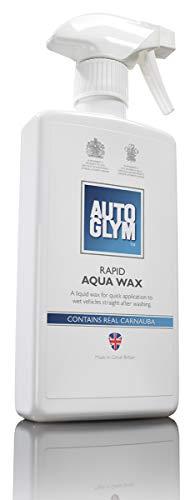 Autoglym Rapid Aqua Wax - Sprühbares Schnell Wasser Wachs - Hartwachs-Finish für alle Außenoberflächen - 500 ml