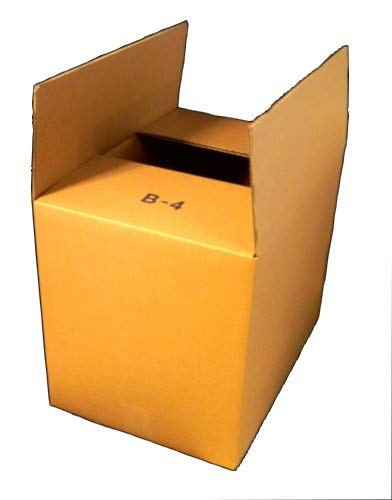 A4サイズを立てて収納できるシングルダンボール I-B4×1枚 373mm×260mm×300mm 3辺合計およそ97センチ
