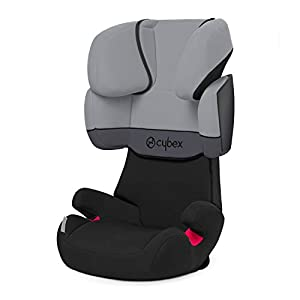 CYBEX Silver Solution X Silla de coche para niños, para coches sin ISOFIX, grupo 2/3 (15-36 kg), de aproximadamente 3 a aproximadamente 12 años, adoquines