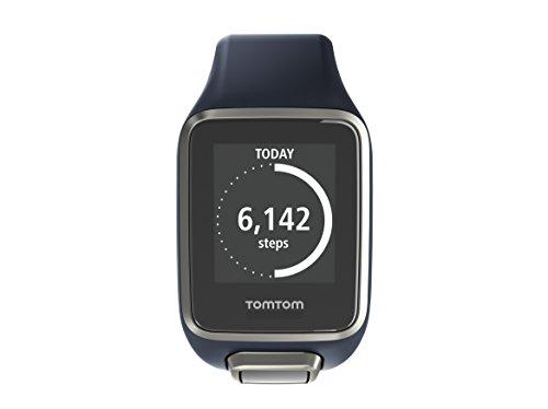 TomTom Golfer 2 GPS-Golfuhr, 40,000 vorinstallierten Plätze weltweit, 24/7 Aktivitäts Tracking, Automatische Schlagerkennung und ScorekarteAnsicht des Grüns und Distanzen zum Grün, Dunkelblau
