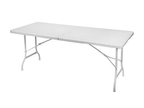 TOOLLAND – Fp116 tolland Table pliante, 180 cm x 75 cm x 74 cm Dimensions
