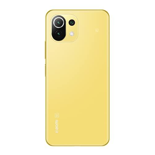 Xiaomi Mi 11 Lite 5G 6+128GB SIMフリー スマートフォン シトラスイエロー 【日本正規代理店品】