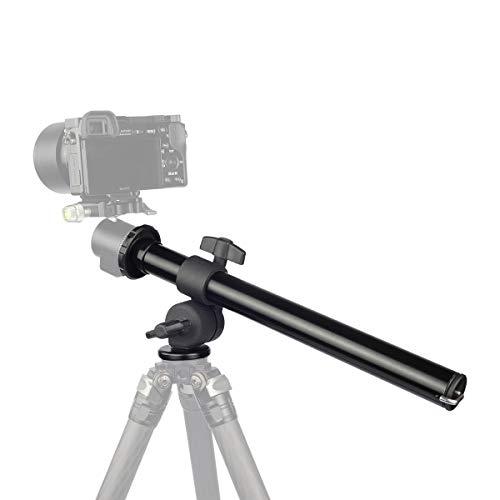 FOTOBETTER Camera Tripod Boom Arm,Rotatable Multi-Angle Tripod Center Column Extension for Studio Outdoor Macro Over Head Shooting,5kg Load Capacity,25mm Tube,32cm Length (BA-25 Tripod Extender)