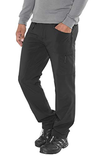 High Colorado Montana Pantalon de Trekking Homme, Black Modèle 56 2020