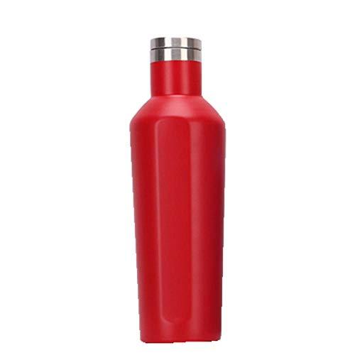 NYCROSSER Flask Roestvrijstaal BPA vrije stofzuiger isolatie Sport Geweldig voor Werk Gym Reizen 750ml