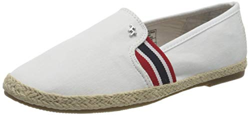 Tom Tailor 8092003, Mocassino Donna, Bianco 00002, 38 EU