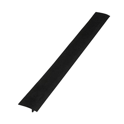 WEIWEITOE 1 UNIDS Estufa de Silicona a Prueba de Aceite Cubierta de Gap para Mostrador de Silicona Flexible Estufa Resistente al Calor de Silicona a Prueba de Gap Tapas, Negro,