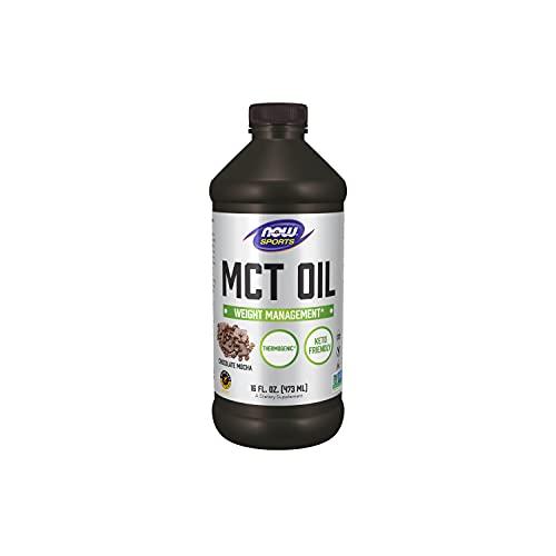 Now Foods MCT Oil, Chocolate Mocha, 473 ml