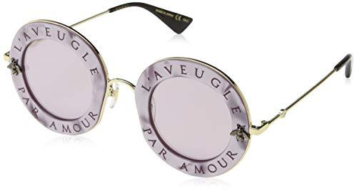 Gucci GG0113S 005 Gafas de sol, Rosa (Pink/Pink), 44 para Mujer