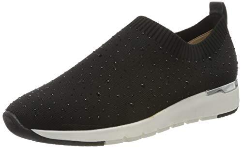 CAPRICE Damen KAIAFLY Slip On Sneaker, Schwarz (Black Knit 35), 36 EU