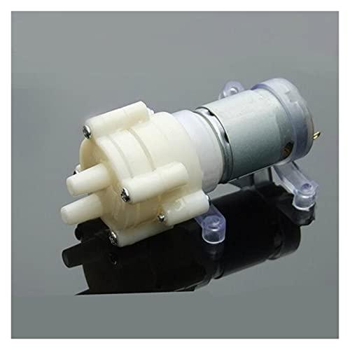 Duradero Diafragma de cebado Mini bomba Motor aerosol 12V 5W Micro Bombas micro para dispensador de agua 90 mm x 40 mm x 35 mm Max succión 2m para equipos industriales, barcos, (Color : As show)