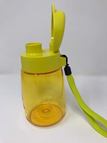 Tupperware to Go Eco Fresh 350 ml amarillo con cinta botella ecológica EcoEasy Sportfreund niños pequeños Baby Sport