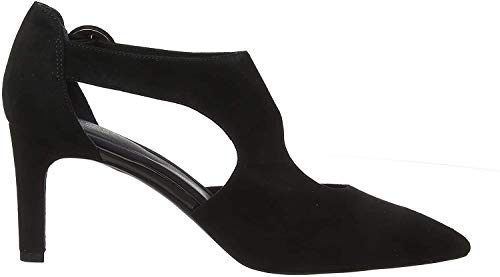 Rockport Damen Total Motion Valerie Luxe Pumps, Schwarz (Black Kid Suede 001), 39 EU (5.5 UK)