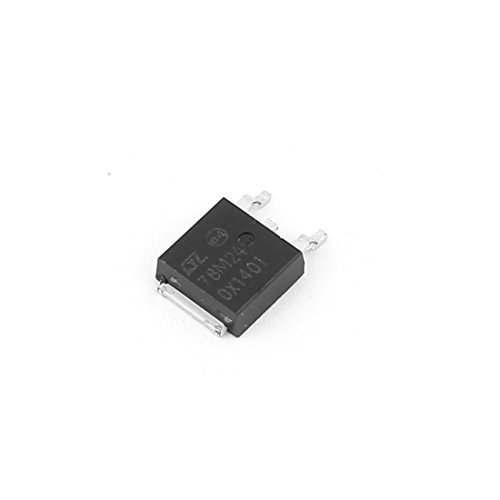 DealMux 78M24 5-24 V 0.5A 3 Terminal Transistor regulador de voltaje positivo IC