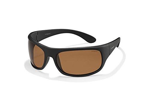 Polaroid - Gafas de sol - para hombre Negro 9CA/HE: Black
