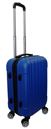 Maleta Laban Trolley rigida ABS 4 Ruedas (Azul metálico) tamaño cabina