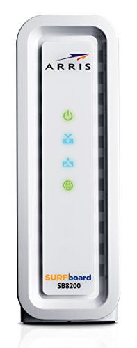 ARRIS SURFboard SB8200 DOCSIS 3.1 Gigabit Cable Modem, Approved for Cox, Xfinity, Spectrum & others...