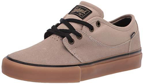 Globe Herren Mahalo Skate Schuh, Braun (Sesam/Kaugummi), 45 EU