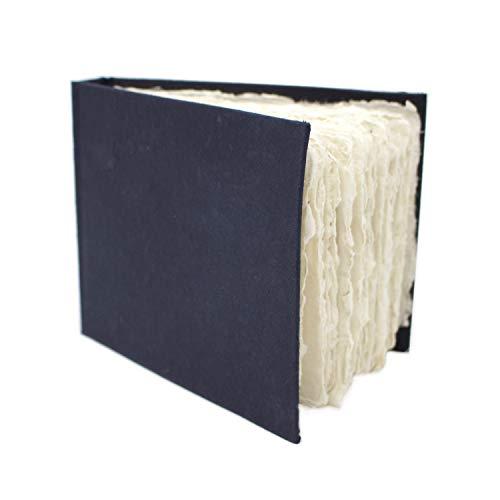 Artway 2303261 Indigo Rag Book Aquarell-Skizzenbuch, Paper, Weiß, A6 - Querformat