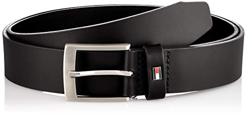 Tommy Hilfiger ADAN 3.5 Cinturn, Negro, 100 cm para Hombre